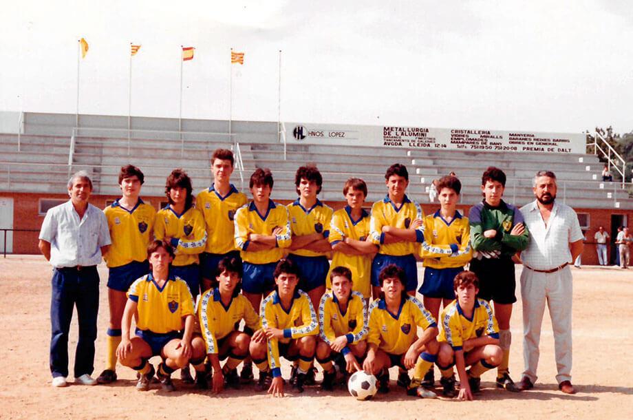 Juveniles CE Premia de Dalt 1979