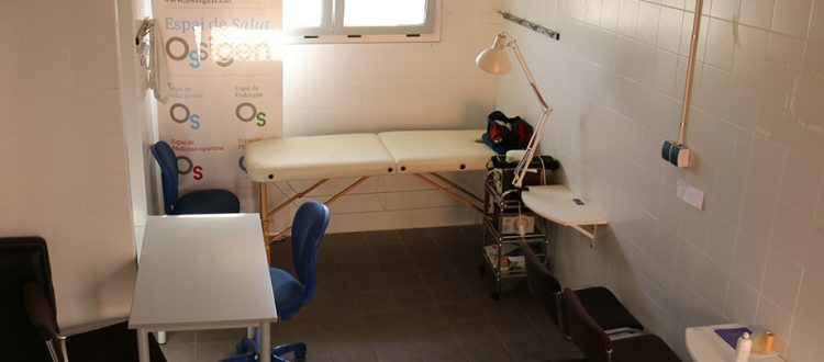 Sala de Fisioterapia CEPremia de Dalt