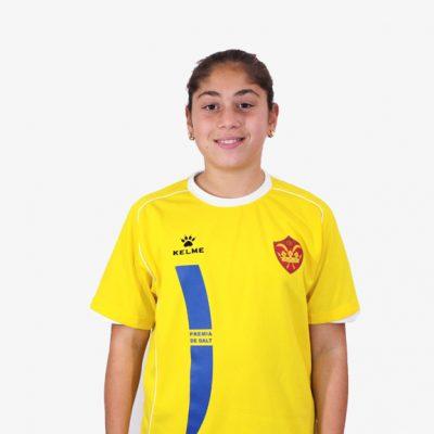 Agustina Pérez Fútbol Femenino Alevín Infantil CE Premiá de Dalt