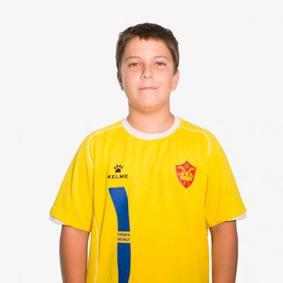 Biel Morales F11 Infantil B CE Premia de Dalt