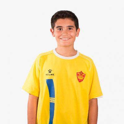 David Calvo F11 Infantil D CE Premia de Dalt