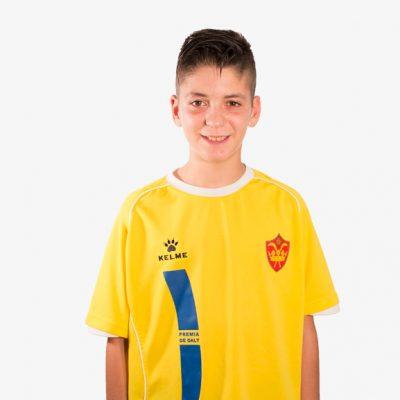 Iván Sevillano F11 Infantil D CE Premia de Dalt