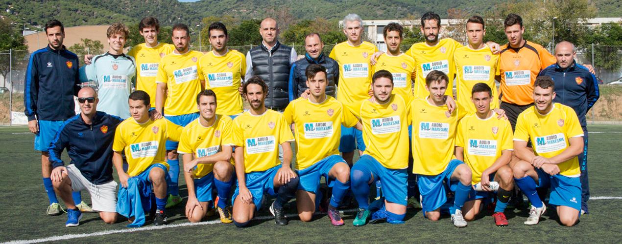 Jugadors Primer Equip de el Club Esportiu Premià de Dalt