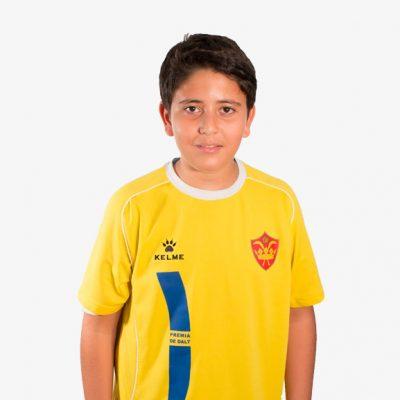 Youssef El Rhendour F11 Infantil D CE Premia de Dalt